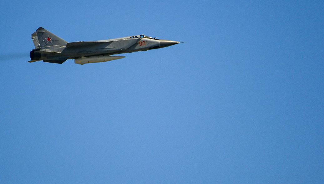 В Красноярском крае по тревоге подняли истребители-перехватчики МиГ-31БМ