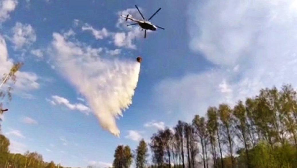 В Оренбургской области локализовали угрожавший селам природный пожар
