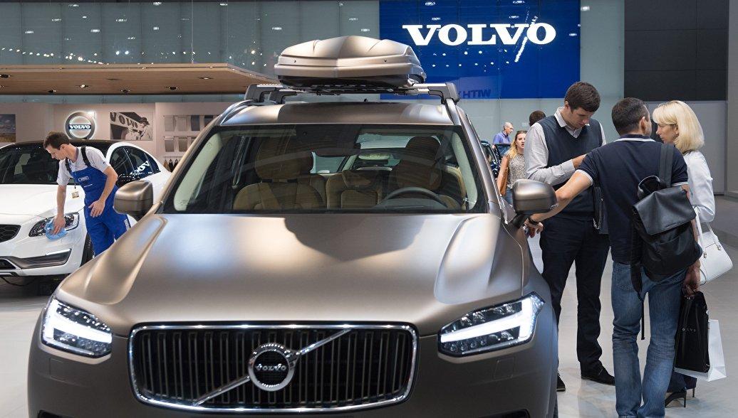 Volvo в этом году незначительно снизила продажи легковых машин в России