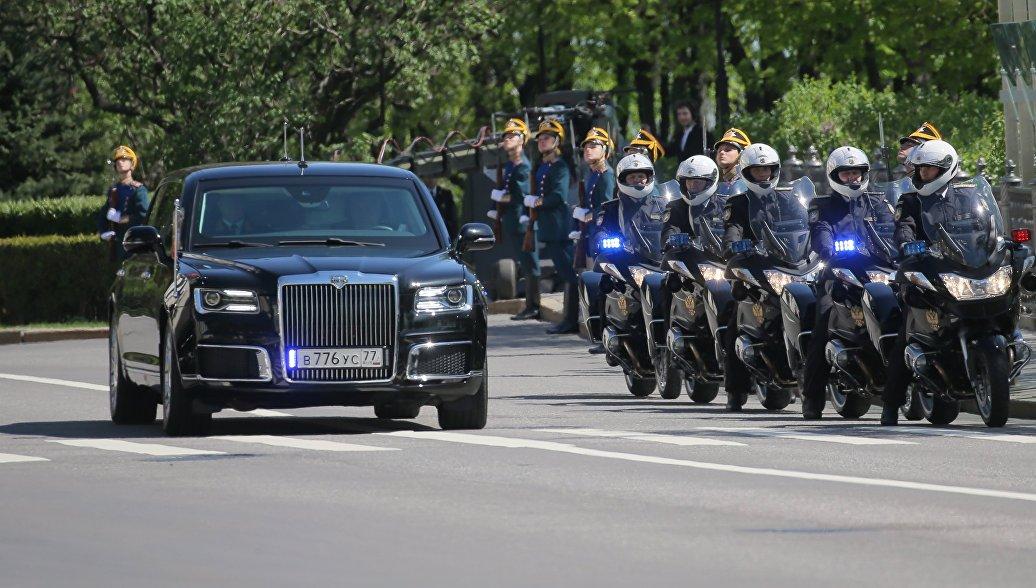 Источник рассказал, когда в гараж Путина поступит мотоцикл проекта