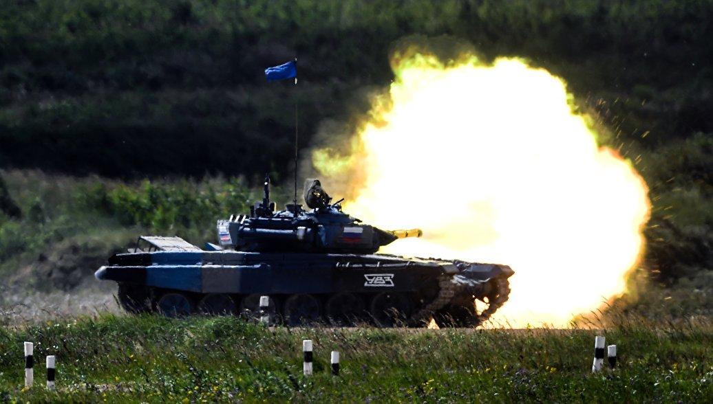 Российские военные победили в