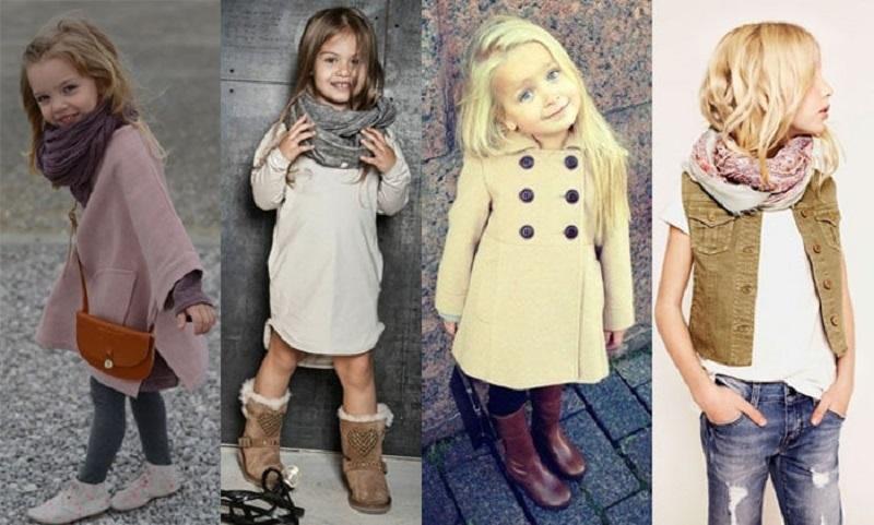 Стильная верхняя одежда для детей
