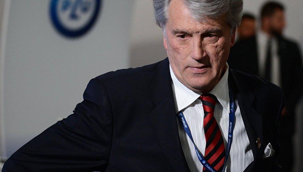 Ющенко заявил о важности отношений с Россией