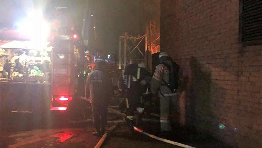 Источник сообщил об угрозе взрыва на заводе во Владикавказе