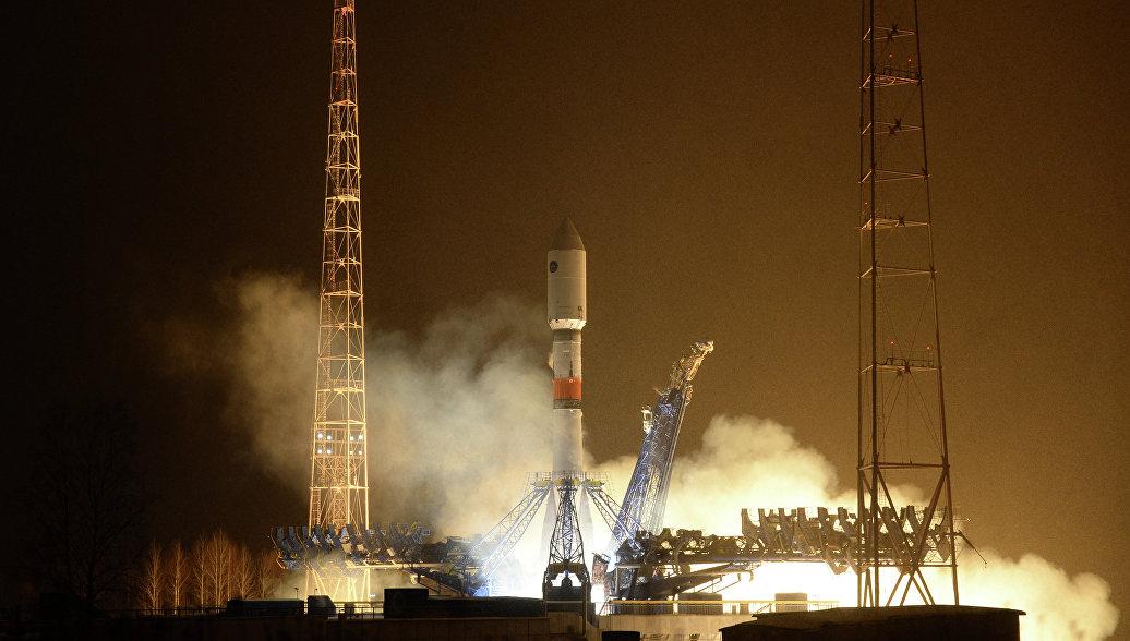 С Плесецка запустили ракету