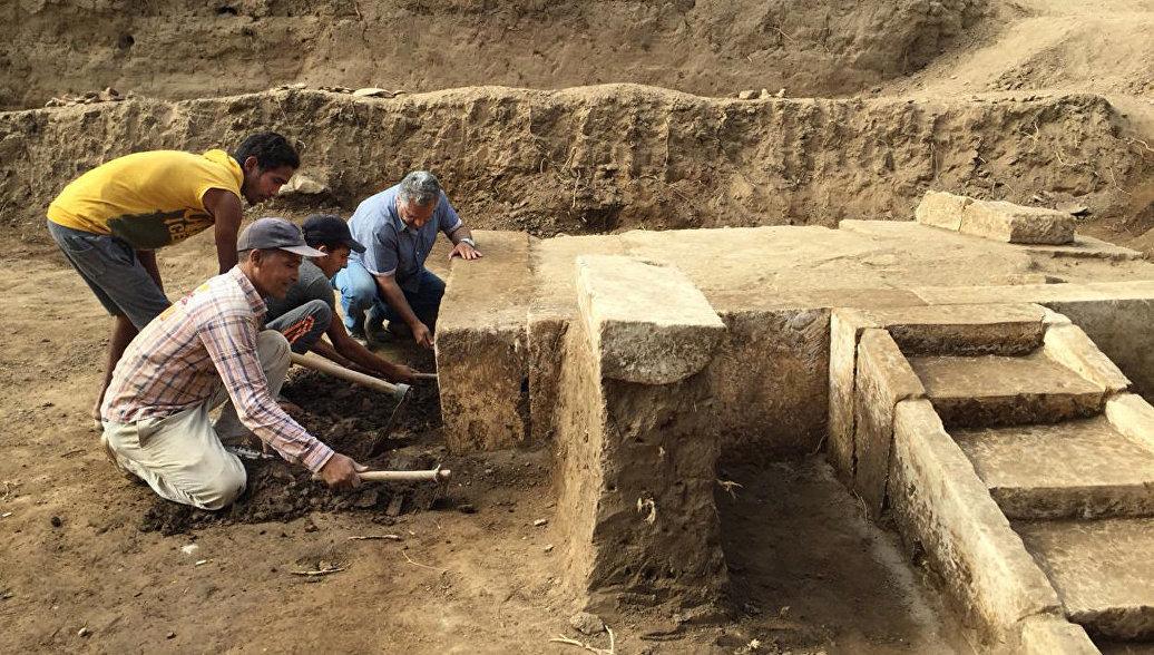 Под Каиром нашли зал торжеств фараона Рамзеса II