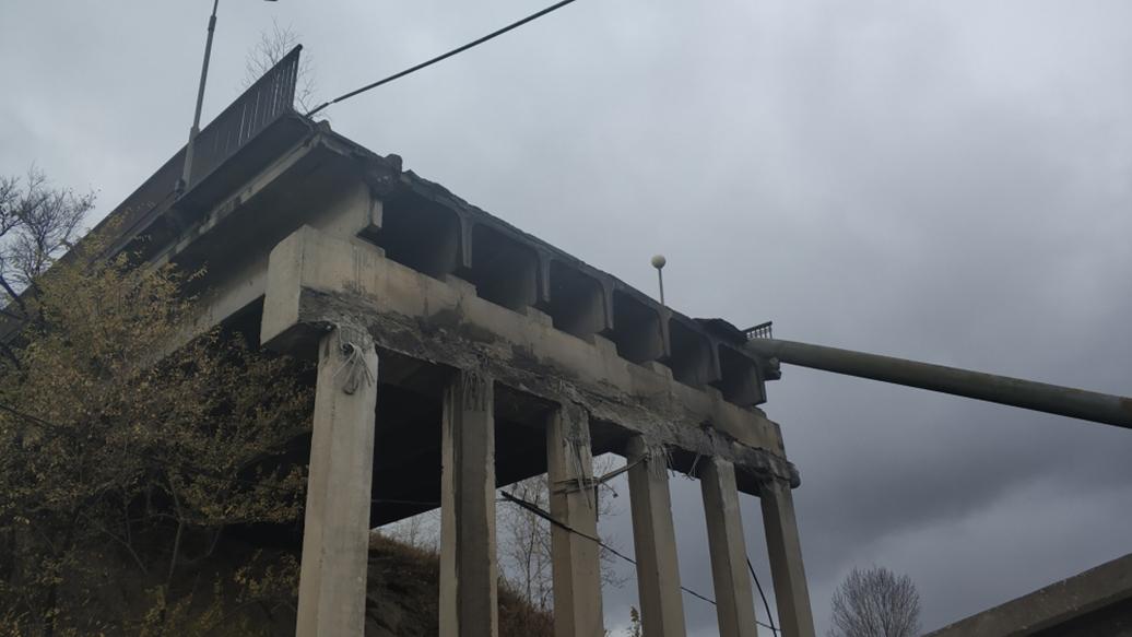 В Приамурье восстановили контактную сеть на месте обрушения моста