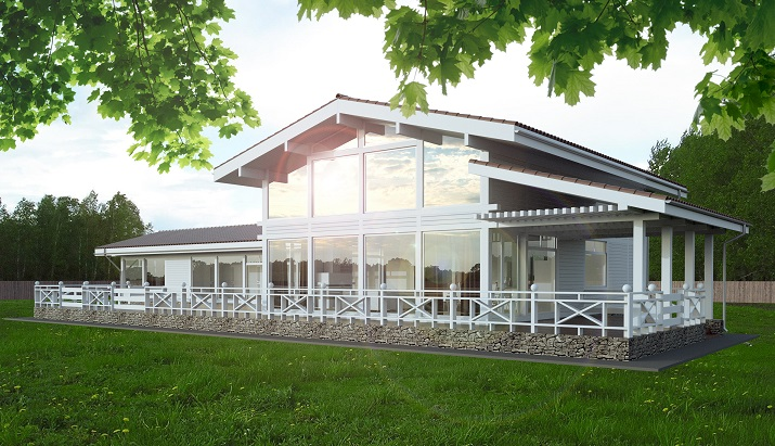 Быстрое строительство современных домов