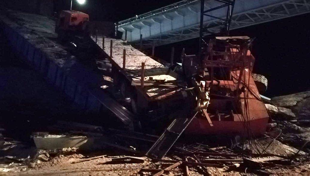 Число пострадавших при обрушении моста в ХМАО увеличилось до семи человек