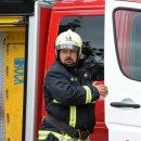 Во Владивостоке загорелся автобус с пассажирами
