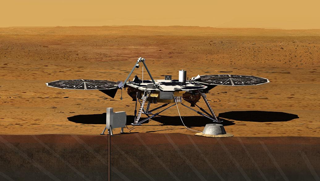 Зонд НАСА InSight в понедельник прибудет на Марс