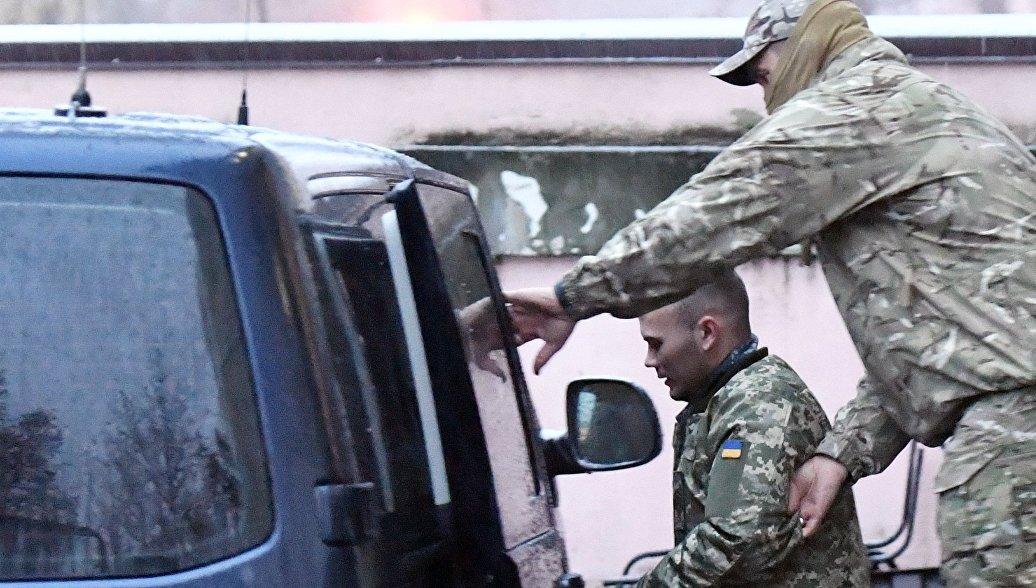 В Крыму арестовали всех нарушивших границу украинских моряков