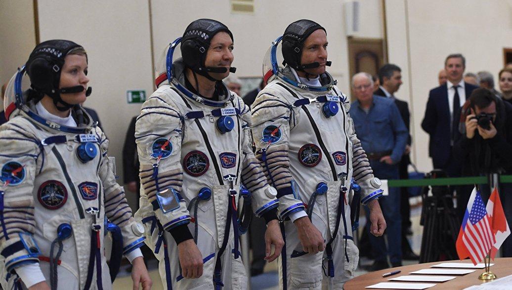 Члены экипажа, который полетит к МКС, уверены в надежности