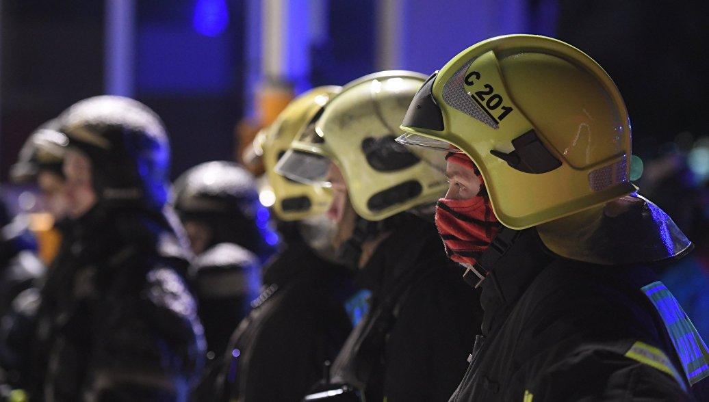 В Люберцах ликвидировали открытое горение в бюро ритуальных услуг