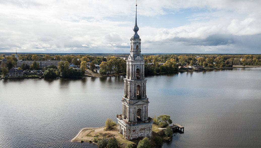 Руденя: колокольню в Калязине отреставрируют