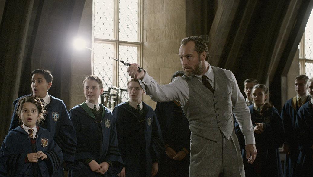 В лучших традициях Гарри Поттера: