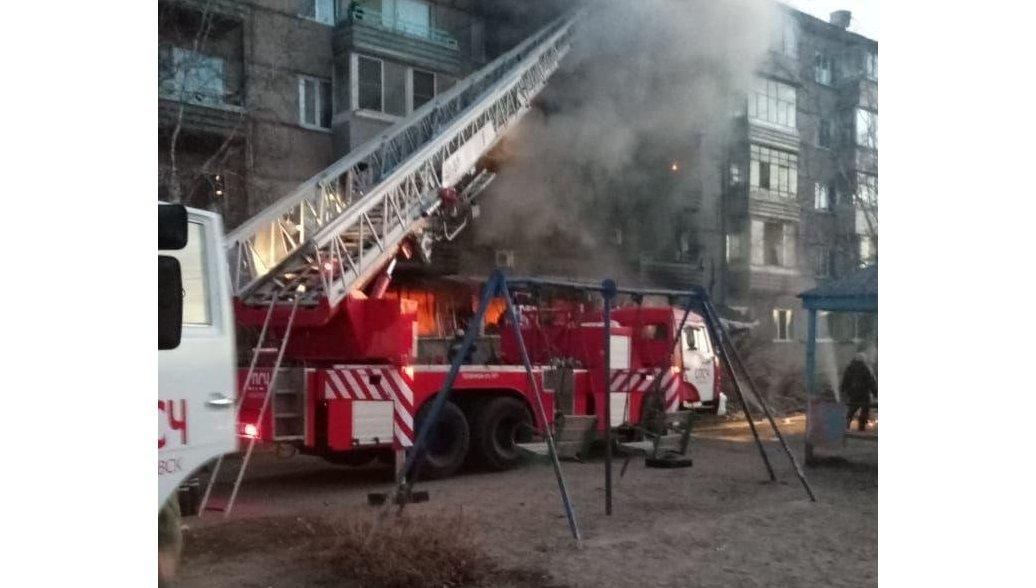 В ЕАО ликвидировали открытое горение в доме, где взорвался газ