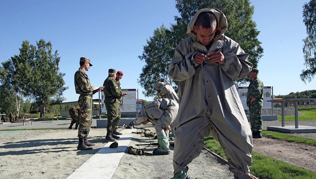 Минобороны открыло портал, посвященный столетию войск РХБЗ