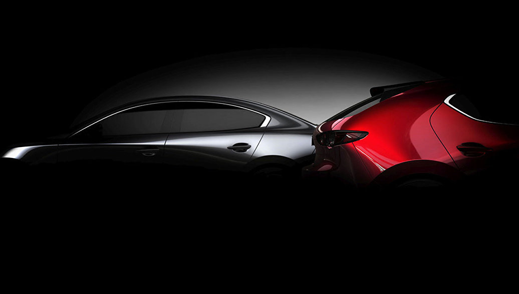 Mazda опубликовала первое фото новой