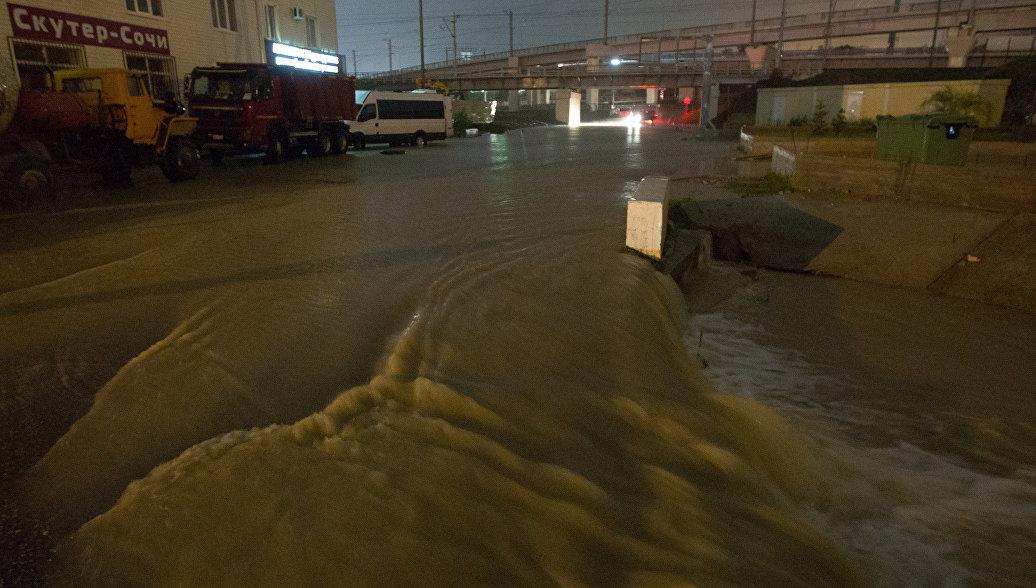 Более тысячи жителей Сочи признаны пострадавшими от наводнения на Кубани