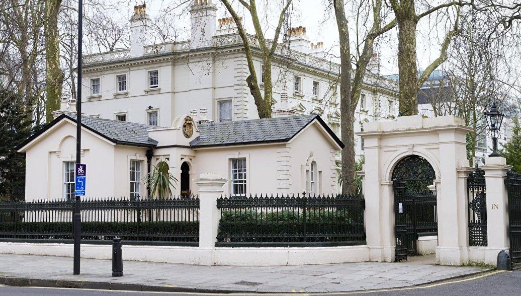 Посольство России отреагировало на сообщения о тайной операции Британии на Украине