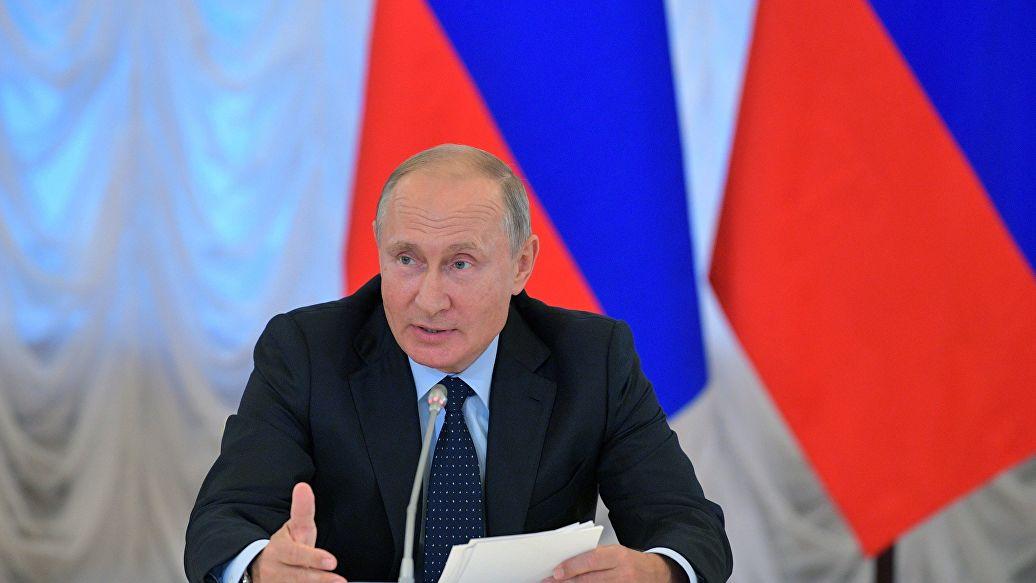 Путин подписал закон об установке табличек на объекты культурного наследия