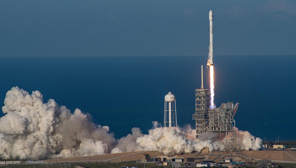 В Калифорнии отложили запуск ракеты-носителя Falcon 9