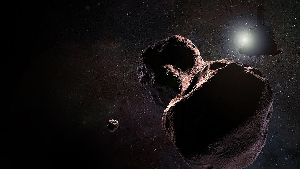 Зонд New Horizons приступил к изучению астероида