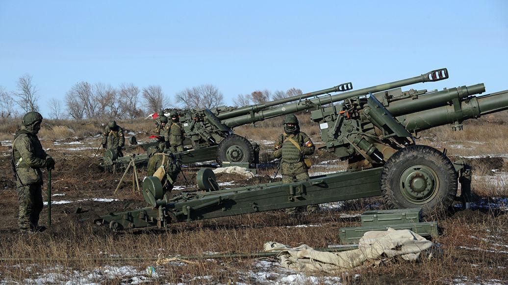 На Северном Кавказе артиллеристы приступили к занятиям по новой методике