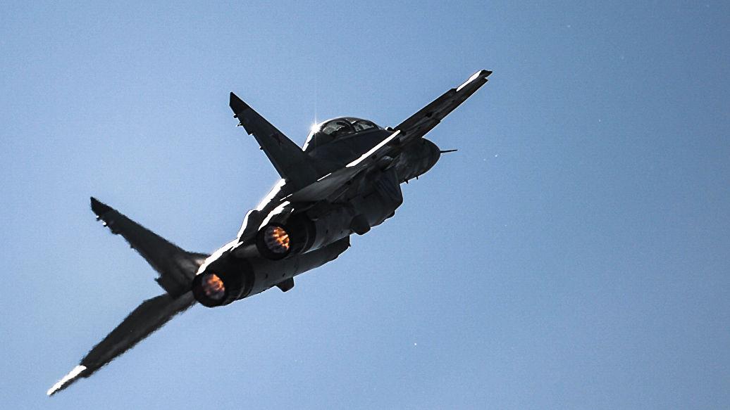 Летчики ЮВО провели в небе над Арменией бои с самолетами