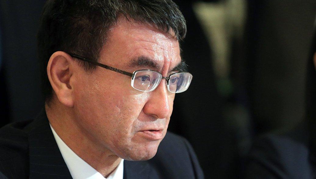 Министр иностранных дел Японии хочет поехать с визитом в Россию в декабре