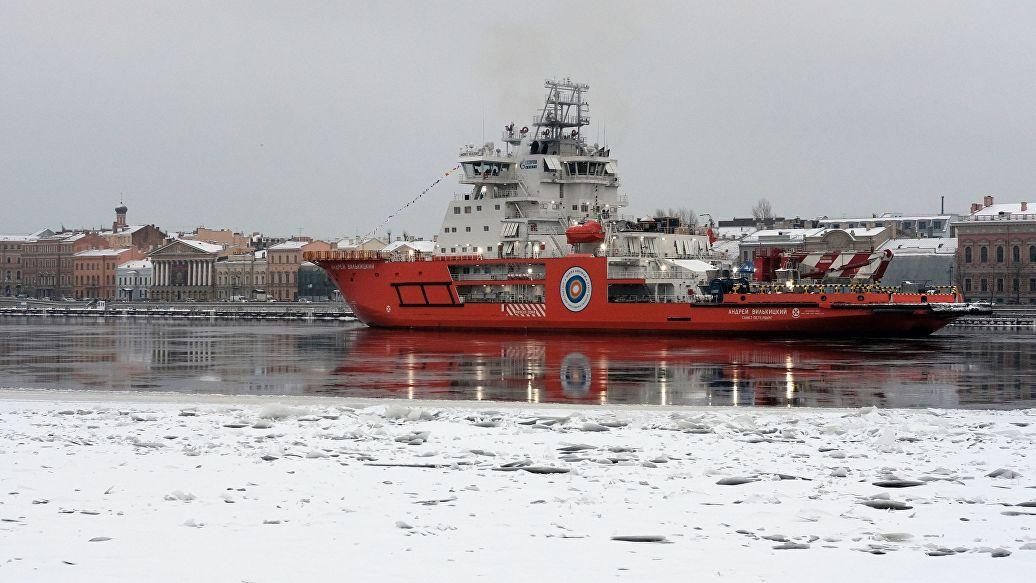 Сдан в строй второй ледокол в рамках арктической программы