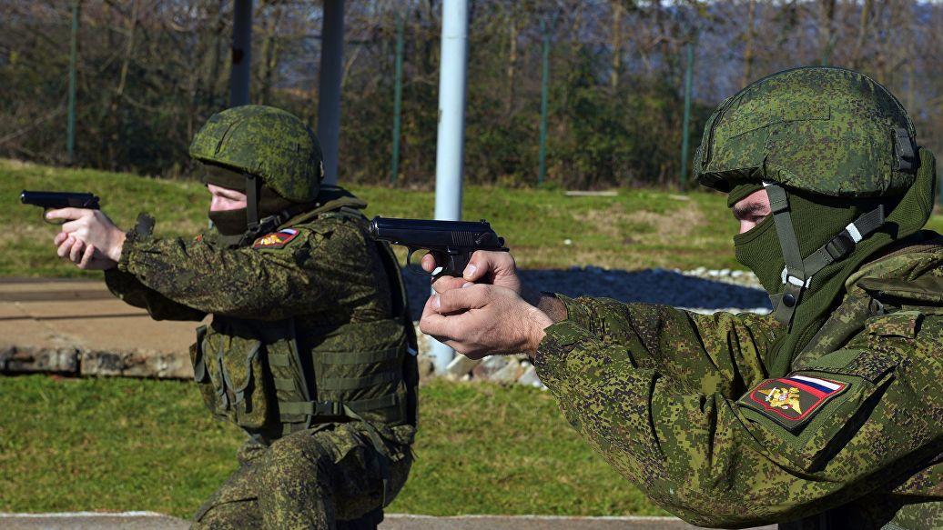 На российской базе в Абхазии создали подразделение военной полиции