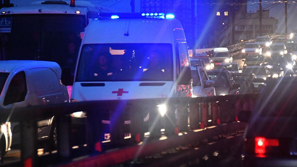 На северо-востоке Москвы три человека пострадали при пожаре