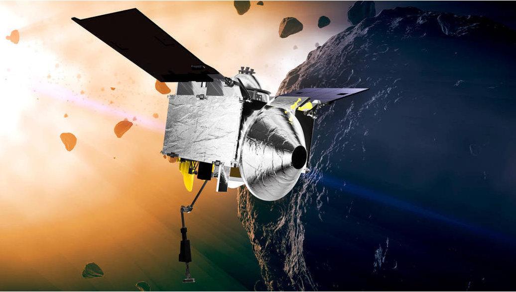 Американский зонд OSIRIS-Rex в понедельник достигнет астероида Бенну