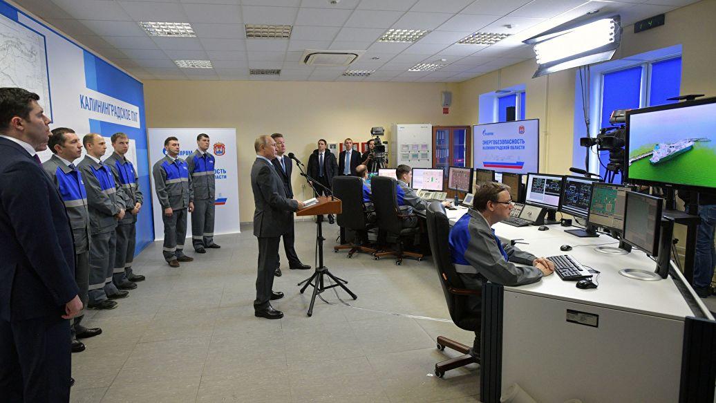 Транзит газа через Литву в Калининградскую область приостановили