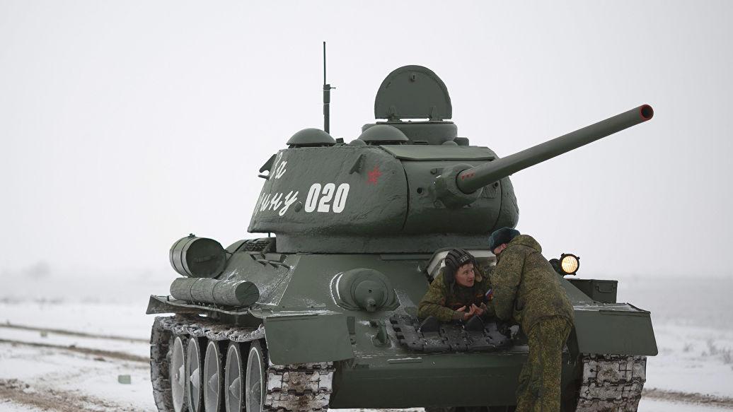 В Россию из Лаоса привезли тридцать танков Т-34