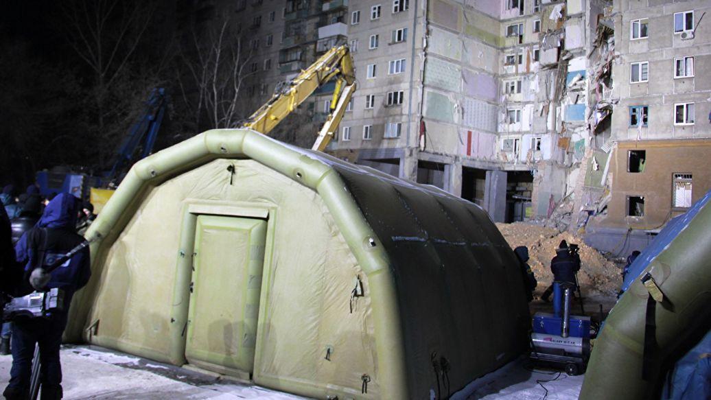 Горячую воду в аварийном доме в Магнитогорске полностью включат к 9 января