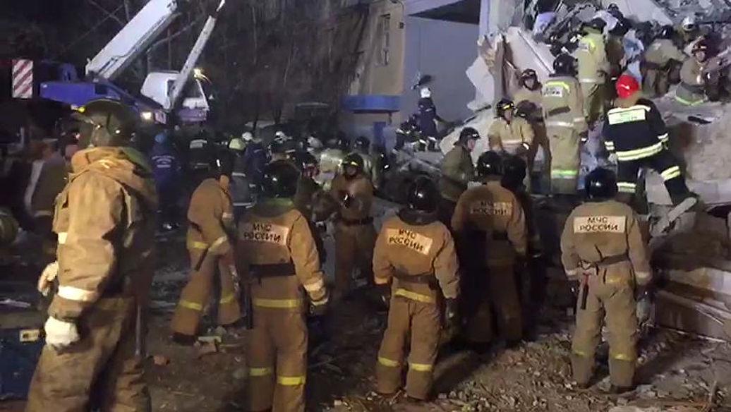 Тело пятого погибшего извлекли из-под завалов в Магнитогорске
