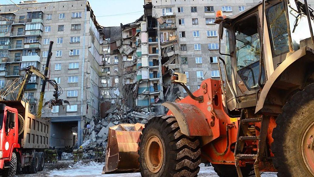 Демонтаж конструкций увеличит срок поисковой операции в Магнитогорске