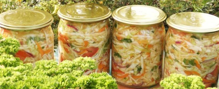 Капуста салатная быстрого приготовления рецепт вкусная