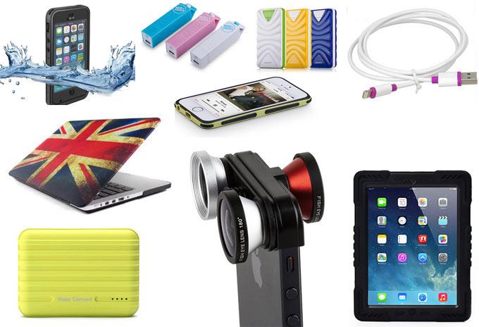 Большой выбор мобильных аксессуаров и различных гаджетов