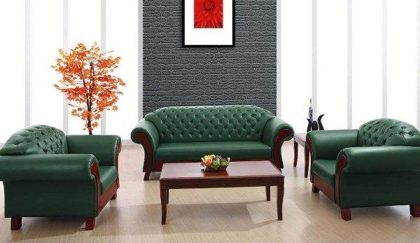 Кожаные диваны для дома и офиса разных размеров, цветов и дизайна