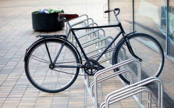 Велопарковки с удобным расположением