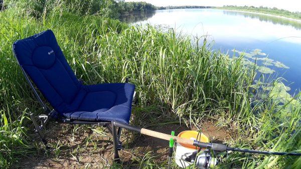 Фидерное кресло для отдыха и рыбалки