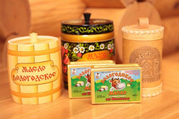 Масло сливочное Вологодское – качество, проверенное временем