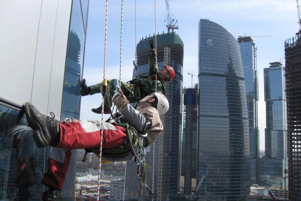 Высотные работы и промышленный альпинизм по всей России