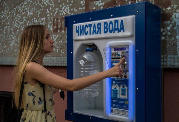Продажа автоматов с водой в Омске
