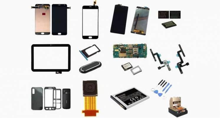 Комплектующие и детали для ваших смартфонов