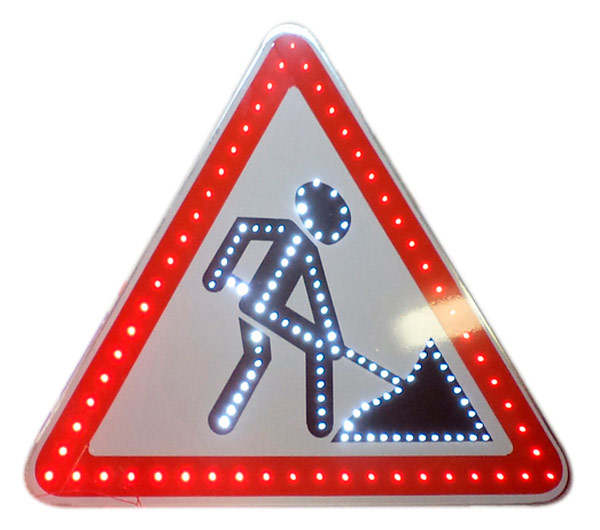 Изготовление любых дорожных знаков со светодиодным покрытием
